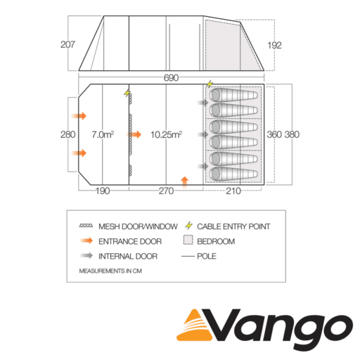Vango Stargrove 600XL