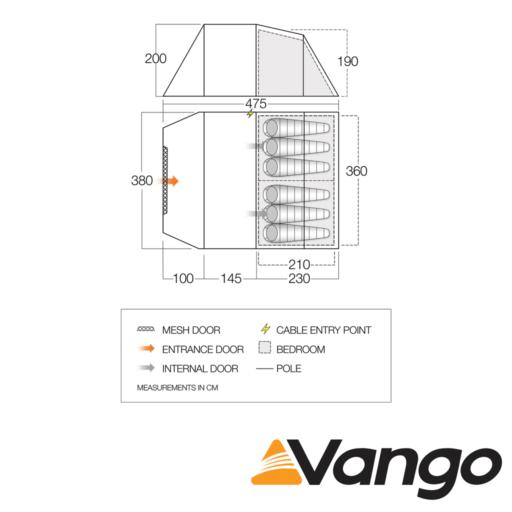 Vango Winslow 600
