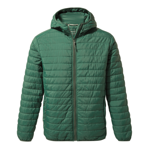 Craghoppers Men's Compresslite III Hooded Jacket – Mountain Green