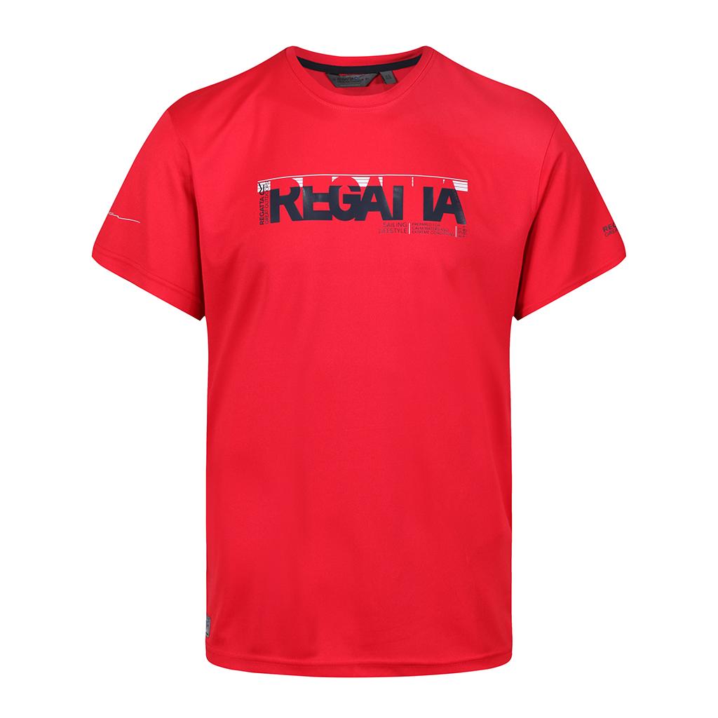 Regatta Men's Tancredo II Navigator Print T-Shirt - Pepper