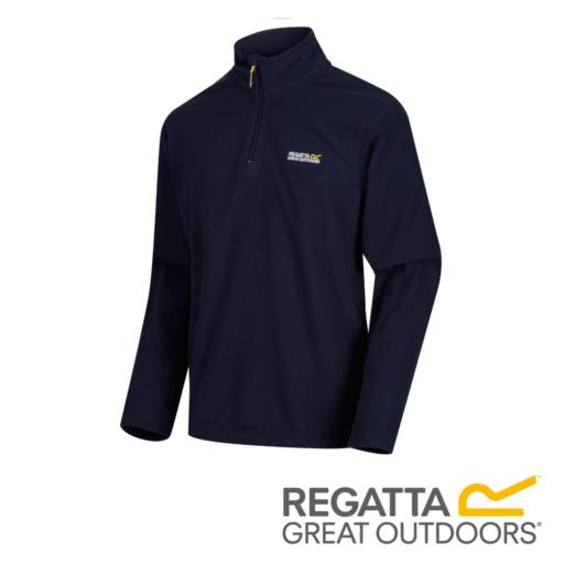 Regatta Men's Thompson Lightweight Half-Zip Fleece – Navy
