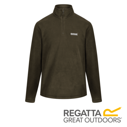 Regatta Men's Thompson Lightweight Half-Zip Fleece – Grape Leaf