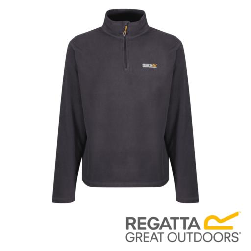 Regatta Men's Thompson Lightweight Half-Zip Fleece – Iron
