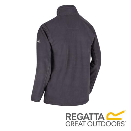 Regatta Men's Stanton II Mid Weight Full-Zip Fleece – Seal Grey