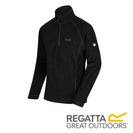 Regatta Men's Montes Fleece – Black