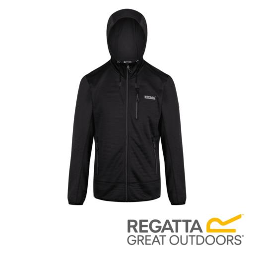 Regatta Men's Tarnis II Hooded Fleece – Black