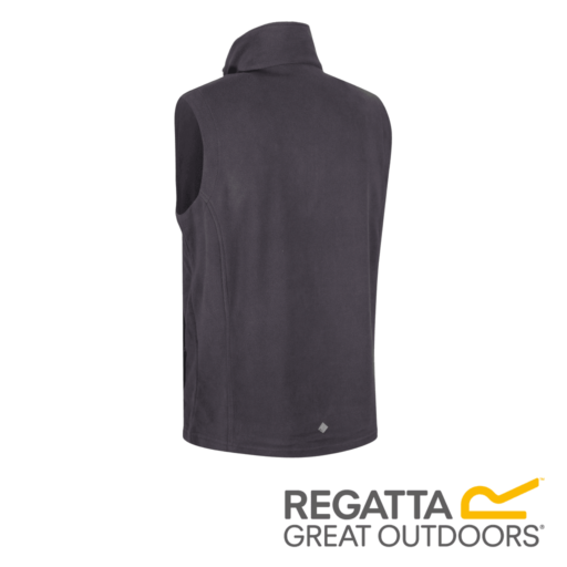 Regatta Men's Tobias II Lightweight Fleece Gilet – Iron / Black