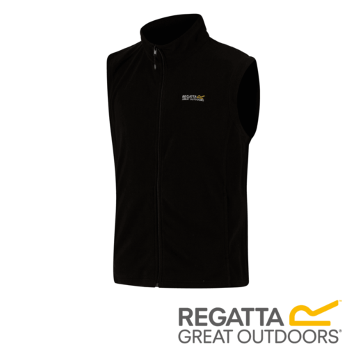 Regatta Men's Tobias II Lightweight Fleece Gilet – Black