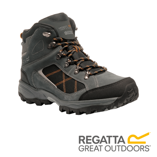 Regatta Men's Clydebank Walking Boots – Briar / Black