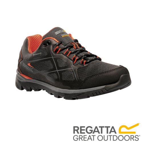Regatta Men's Kota Low Walking Shoes – Briar / Magma