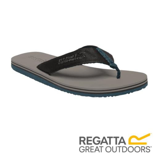 Regatta Men's Rico Flip Flops – Rock Grey