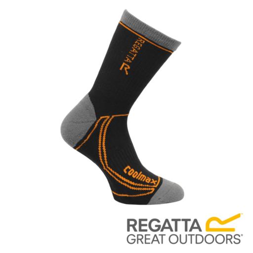 Regatta Men's 2 Season Coolmax Trek & Trail Socks