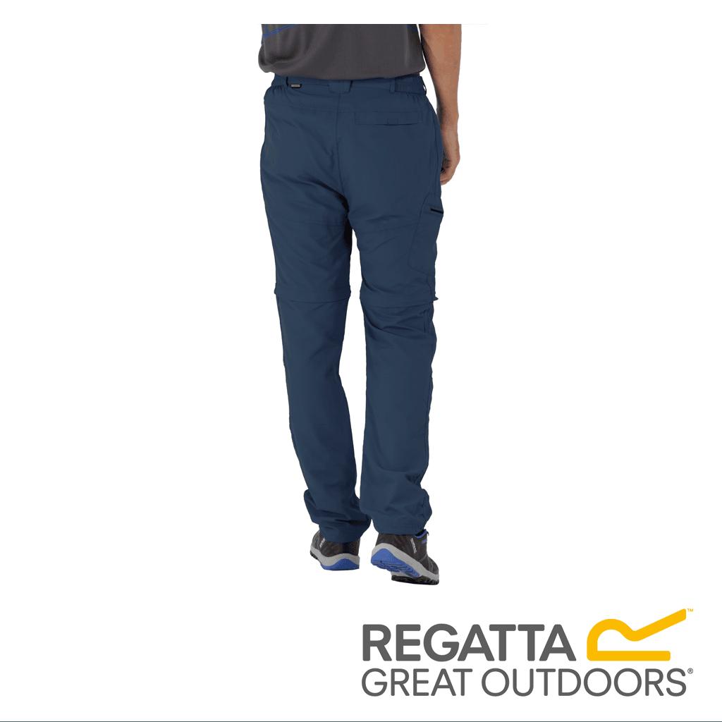 7901fc711d9 Regatta Men's Leesville Multi Pocket Zip Off Trousers