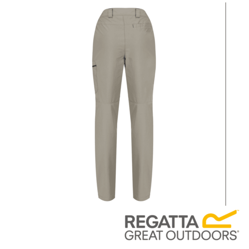 Regatta Men's Highton Multi Pocket Walking Trousers – Short – Parchment