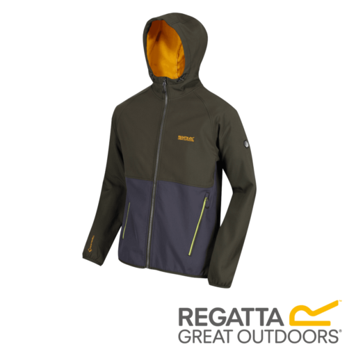 Regatta Men's Arec II Hooded Softshell Jacket