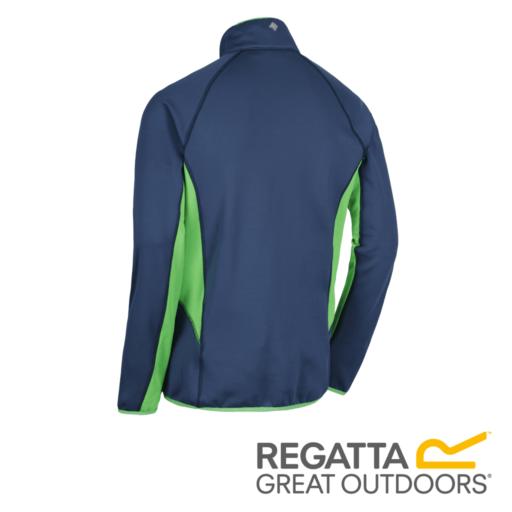 Regatta Men's Yare Knitted Stretch Softshell Jacket – Dark Denim / Seal Grey