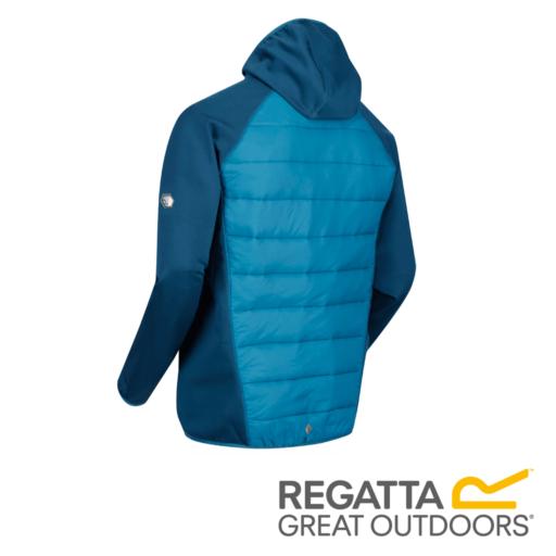 Regatta Men's Andreson IV Lightweight Insulated Hybrid Jacket – Majolica / Sea Blue