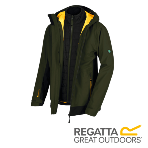 Regatta Men's Wentwood III Waterproof 3 in 1 Jacket