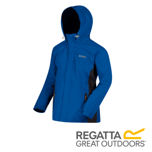 Regatta Men's Matt Lightweight Waterproof Jacket – Oxford Blue / Iron