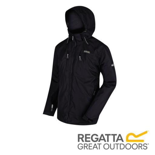 Regatta Men's Calderdale II Waterproof Jacket – Black