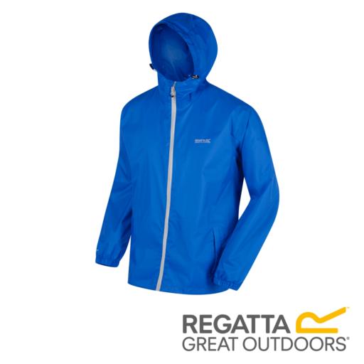 Regatta Men's Pack It Jacket III Waterproof Packaway – Oxford Blue