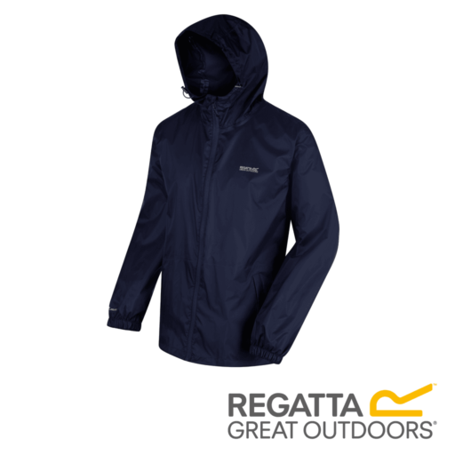 Regatta Men's Pack It Jacket III Waterproof Packaway – Navy