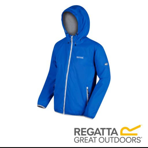 Regatta Men's Lyle IV Lightweight Waterproof Jacket – Oxford Blue
