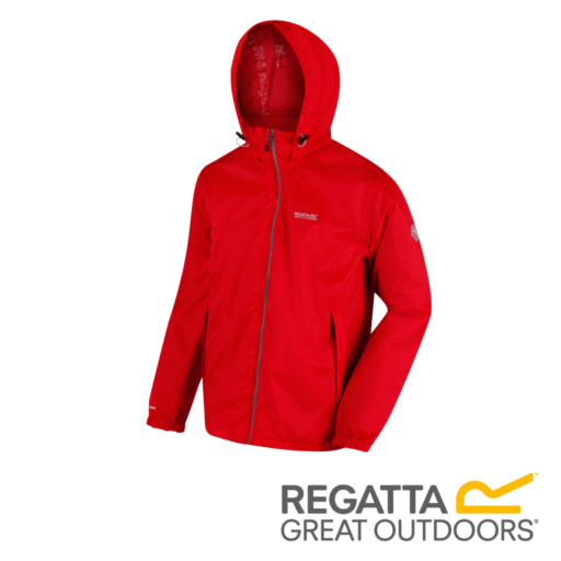 Regatta Men's Lyle IV Lightweight Waterproof Jacket – Pepper
