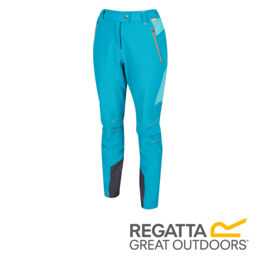 Regatta Women's Mountain Stretch Walking Trousers – Regular – Enamel / Ceramic
