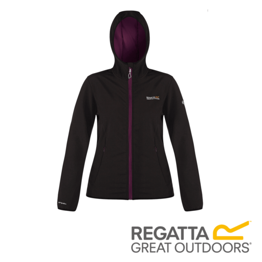 Regatta Women's Arec Stretch Hooded Softshell Jacket