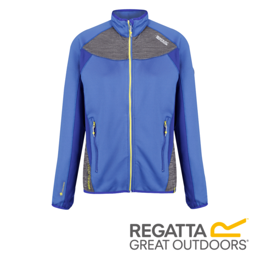 Regatta Women's Yare Knitted Stretch Softshell Jacket – Blueberry Pie / Clematis Blue