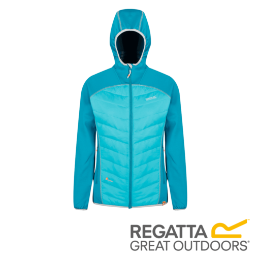 Regatta Women's Andreson IV Lightweight Hooded Hybrid – Enamel / Ceramic