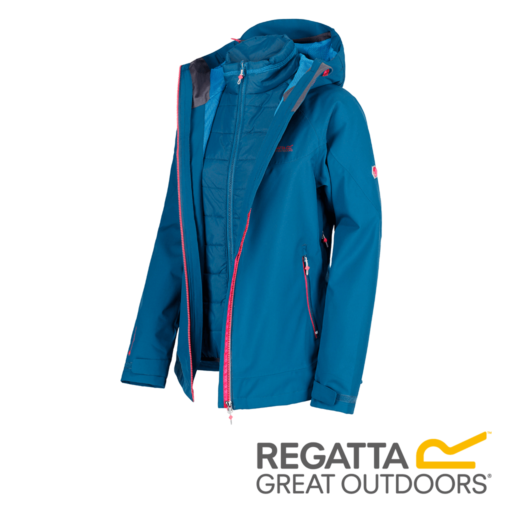 Regatta Women's Wentwood III Waterproof 3 in 1 Jacket