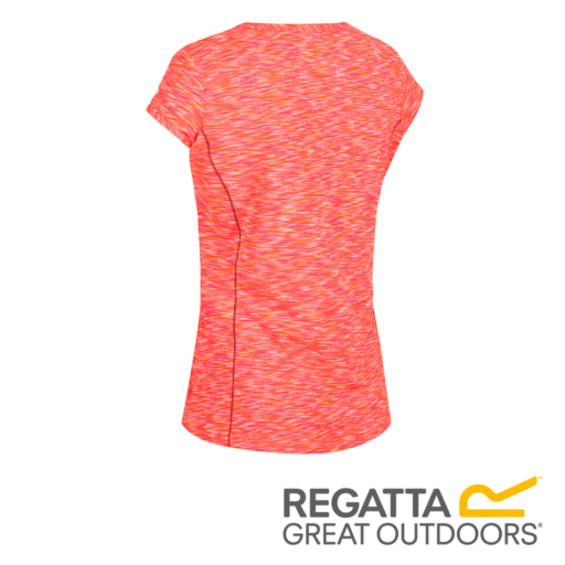 Regatta Women's Hyperdimension T-Shirt – Shock Orange