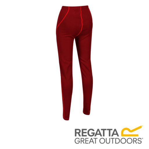 Regatta Women's Zimba Base Layer Bottoms – Tibetan Red