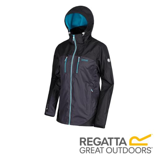 33c7478c4 Regatta Women's Calderdale II Waterproof Shell Jacket Regatta Women's  Calderdale II Waterproof Shell Jacket