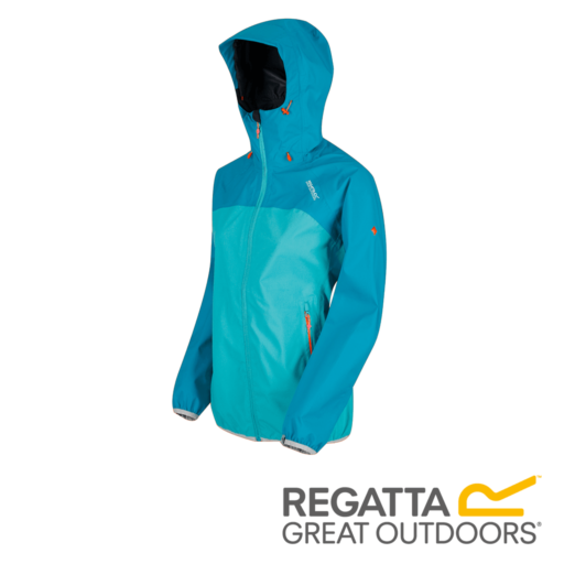 Regatta Women's Imber II Lightweight Hooded Waterproof Jacket