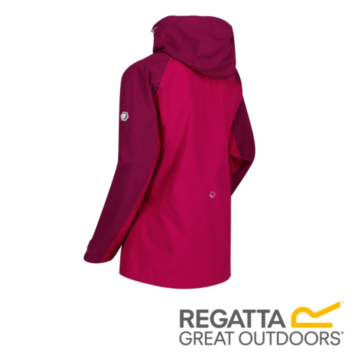 Regatta Women's Birchdale Waterproof Hooded Jacket – Dark Cerise / Beetroot