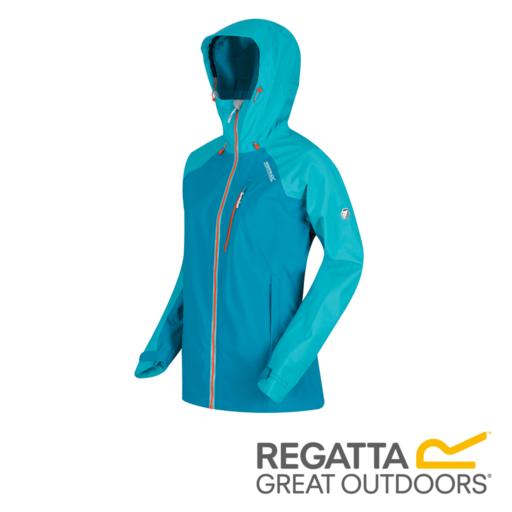 Regatta Women's Birchdale Waterproof Hooded Jacket – Enamel / Ceramic