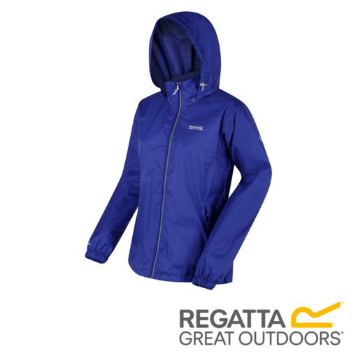 Regatta Women's Corinne IV Lightweight Hooded Waterproof Jacket – Clematis