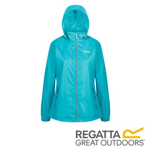 Regatta Women's Corinne IV Lightweight Hooded Waterproof Jacket – Ceramic