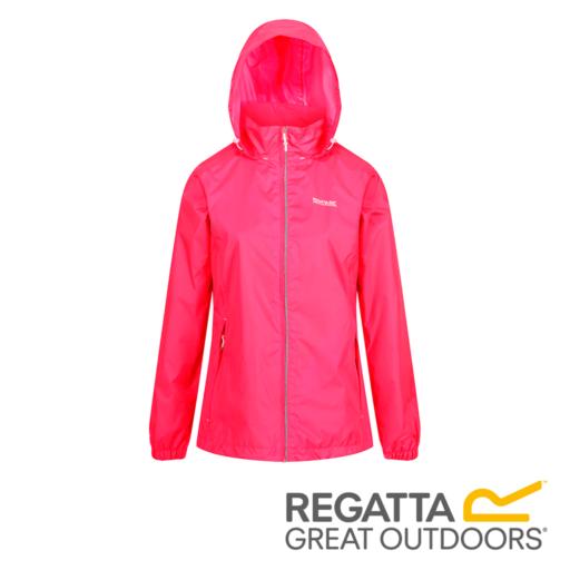 Regatta Women's Corinne IV Lightweight Hooded Waterproof Jacket