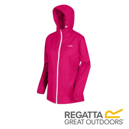 Regatta Women's Pack-It Jacket III Waterproof Packaway – Dark Cerise