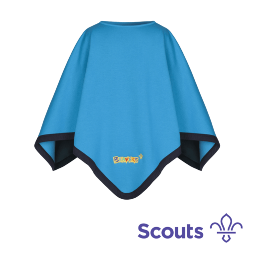 Beavers and Cubs Reversible Poncho Scouting Gift