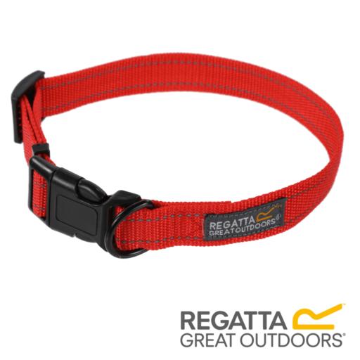 Regatta Comfort Dog Collar – Red