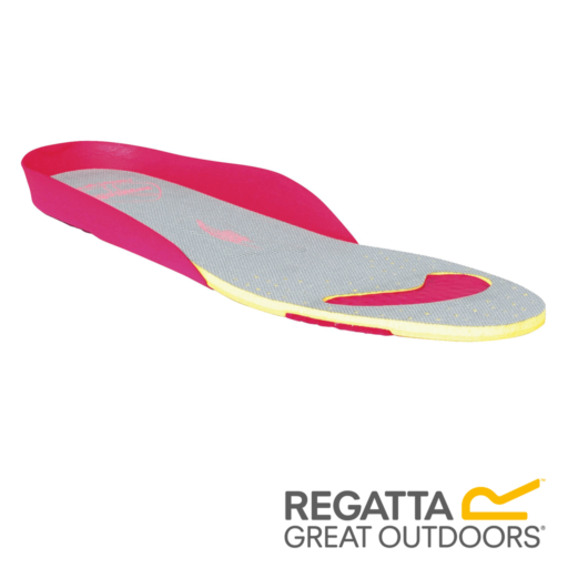 Regatta Women's Comfort Footbed – Grey / Bright Blush
