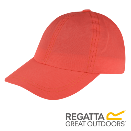 Regatta Kid's Chevi Cap – Neon Peach