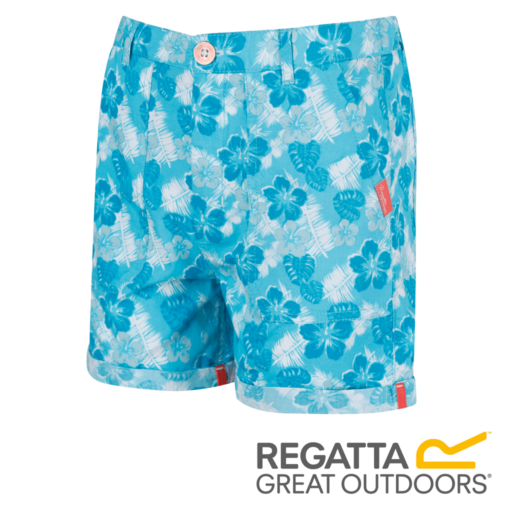 Regatta Kid's Damzel Cool Weave Cotton Shorts – Horizon