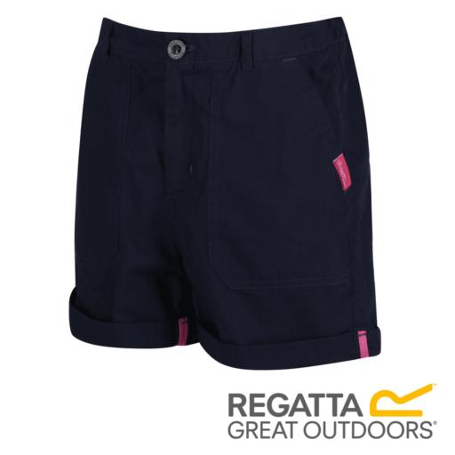 Regatta Kid's Damzel Cool Weave Cotton Shorts