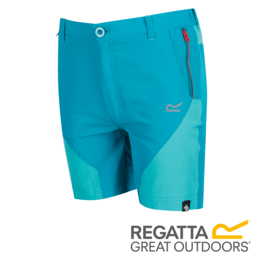 Regatta Kid's Sorcer Mountain Shorts – Enamel / Ceramic